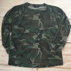 Eclipse Army Pullover Top